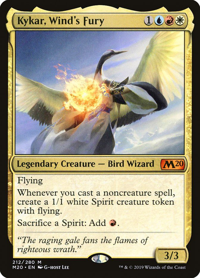 Kykar, Wind's Fury (Core Set 2020) in 2020 Fury