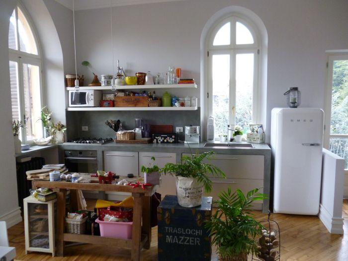 Oltre 1000 idee su cucina in muratura su pinterest banco in granito progetti di cucine e - Mensole cucina country ...