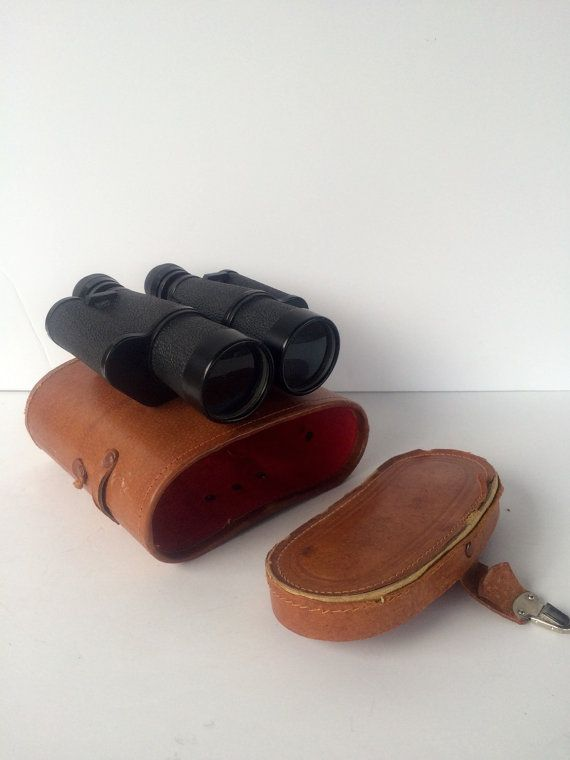 Vintage Binoculars Thorensen German Made Brown by StoreFourandMore