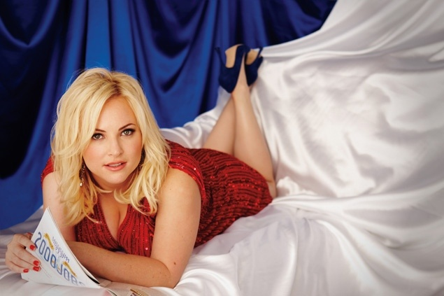 Meghan McCain kept her clothes on when she posed for the April issue of Playboy. But no subject — including her sex life — was off limits.    The 27-year-old political commentator and daughter of Sen. John McCain (R-Ariz.) revealed what life was like on the 2008 campaign trail (she nearly overdosed on Xanax), discussed her sexual preferences and described what turns her on in the bedroom.