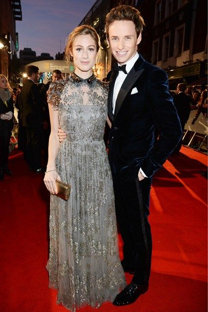 BAFTA Awards fashion - Hannah Bagshawe and Eddie Redmayne. Click through for the full gallery.