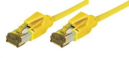 cable rj45 s/ftp jaune 7,5m categorie 7