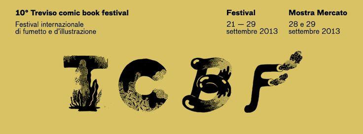 tcbf Banner 19 #comics #treviso #italy #tcbf13 Treviso Comic #Book #Festival #sarahmazzetti