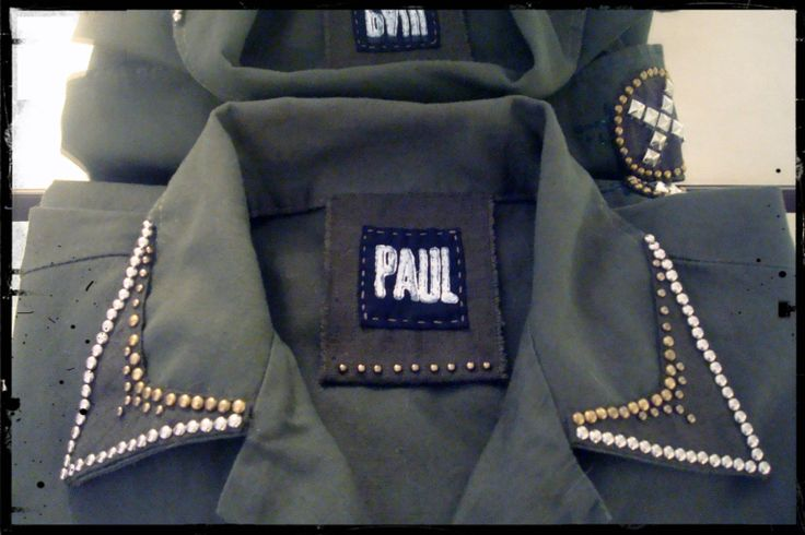 Military Jackets for Paul Deco