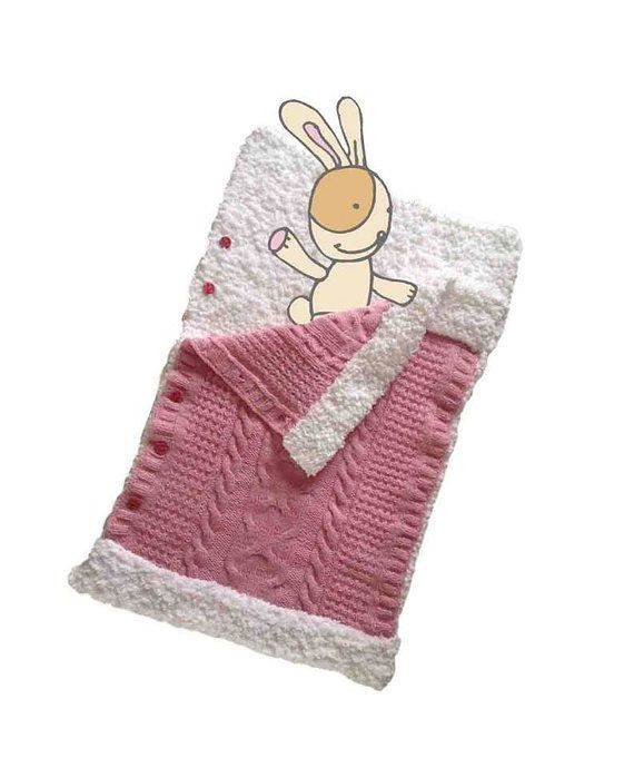 A Super Baby Soft Blanket Case by miCalorKnits on Etsy