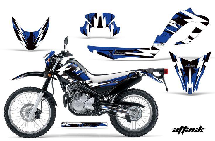 Yamaha Motocross Graphic Sticker Kit - Yamaha XT250X