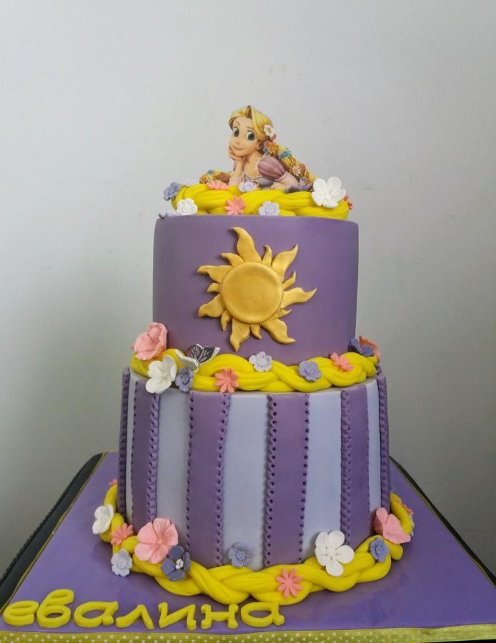 Rapunzel cake  by Silviq Ilieva