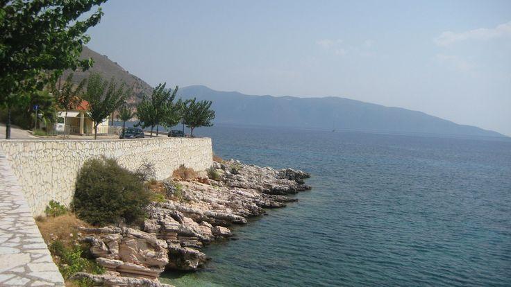 Agia Efimia beach, Kefalonia