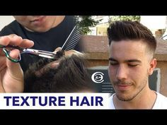 Tutorial Como Hacer Un Mid Fade Con Barba / Parte 2 - YouTube
