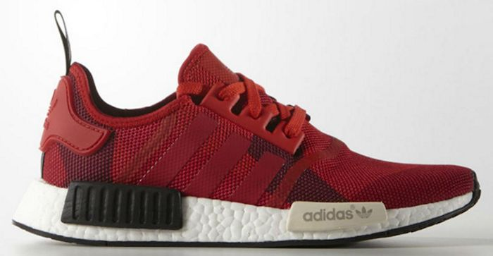 adidas nmd dames bordeaux