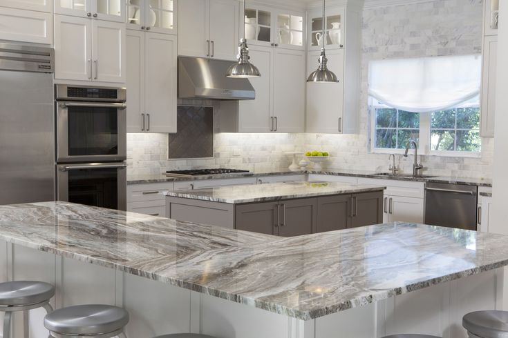 Gorgeous Sequoia Marble Countertops By Artisan Group