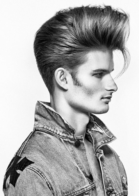 Naha Finalist Dana Hodges Caschetta Men S And Styling Finishing Bangstyle Men Haircut Styles Modern Pompadour Mens Hairstyles