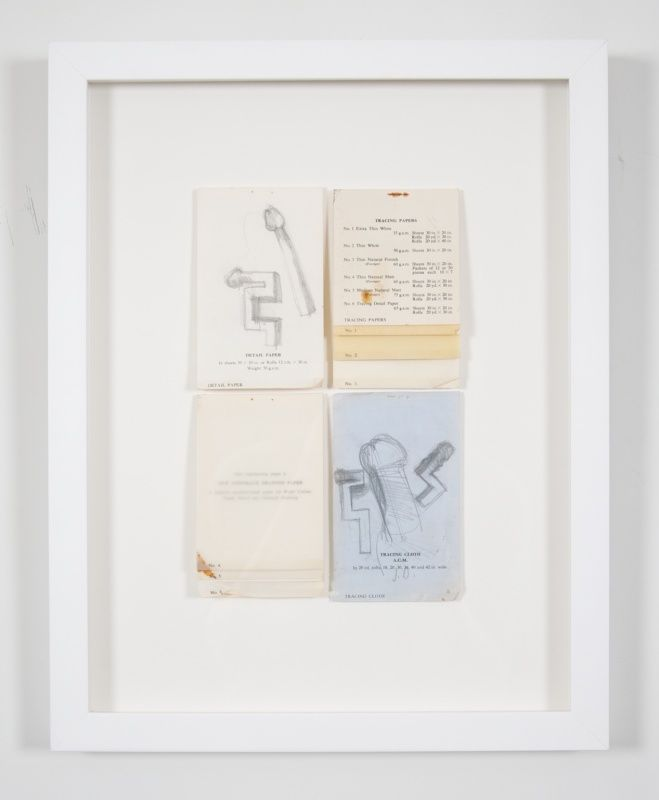 Jim Dine abstracted signed drawing from 54 items from 60 Chester Square