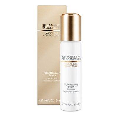 JANSSEN MATURE SKIN NIGHT RECOVERY SERUM na noc http://minerwa.net/maski-i-koncentraty/440-janssen-mature-skin-night-recovery-serum-na-noc.html