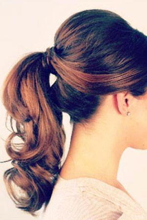 Enjoyable 1000 Ideas About Wedding Ponytail On Pinterest Wedding Ponytail Short Hairstyles For Black Women Fulllsitofus