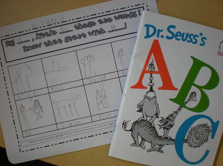 activities to go with dr.seuss books