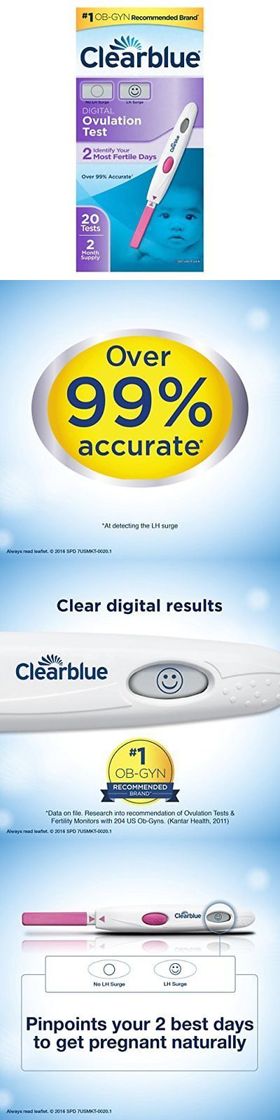 Fertility Monitors and OPKs: Clearblue Digital Ovulation Test, 20 Ovulation Tests -> BUY IT NOW ONLY: $42.07 on eBay!