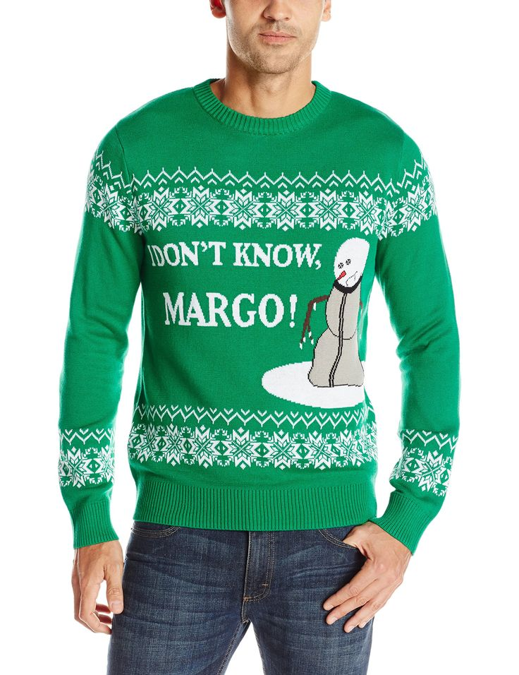 """National Lampoon's Christmas vacation """" I Don't Know, Margo"""" Ugly Christmas Sweater 