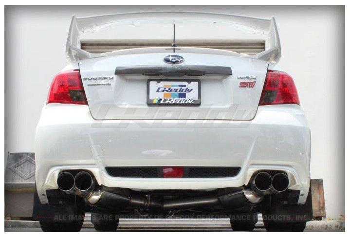GReddy Subaru WRX Sedan 2011-ON Evo3 Exhaust