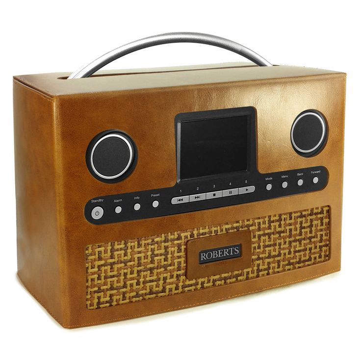 Tuff-Luv Roberts DAB radio Stream 93i Retro Vintage leather case - Brown | eBay