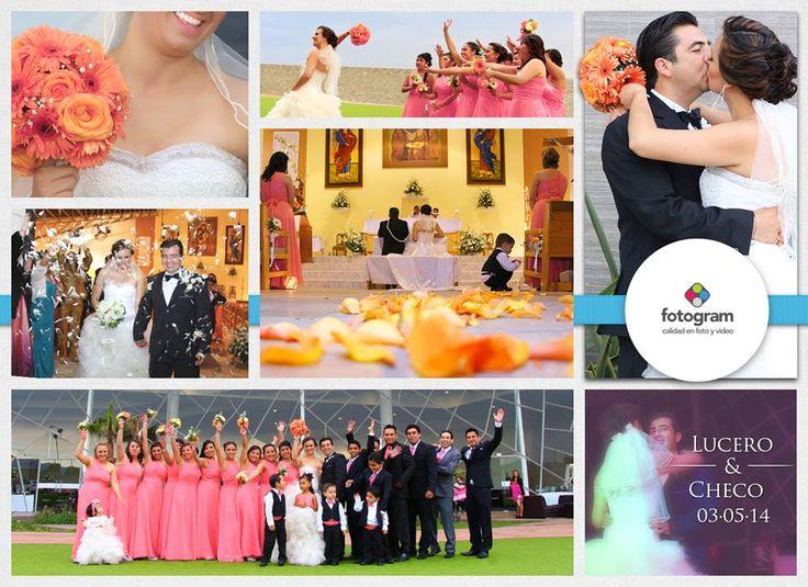Foto de Evento en la Boda de Lucero y Checo en Salón Don Carlos, Pachuca,Hgo. 3 de mayo 2014. Incluido en su paquete Foto + Video. Fotogram