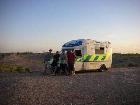 Mongolia Charity Rally Team Ulaan-Ambulance #Mongolia #Charity #Rally