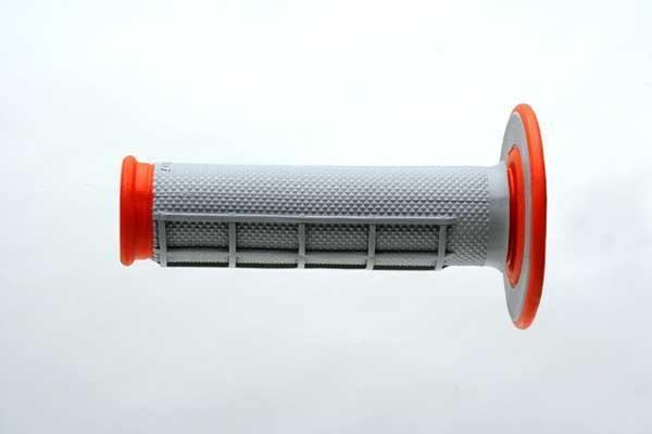ΑΞΕΣΟΥΑΡ ΜΟΤΟΣΥΚΛΕΤΑΣ ΧΕΙΡΟΛΑΒΕΣ RENTHAL Χειρολαβές RENTHAL Dual Compound για χρήση MX/ENDURO πορτοκαλί-γκρί G155