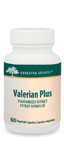 Valerian Plus by Genestra provides valerian root and root standardized extract. Valerian root is traditionally used in Herbal Medicine to help relieve nervousness and as a sleep aid. The capsules are 100% pure vegetable sourced.