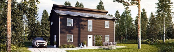 Tidlös 05: Är ett modernt 2-planshus med karaktär.