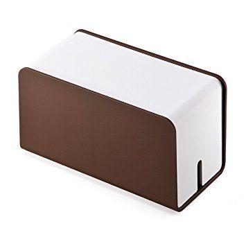 Amazon | サンワダイレクト ケーブルボックス ケーブル収納 テーブル ... サンワダイレクト ケーブルボックス ケーブル収納 テーブルタップボックス ミニサイズ タップ収納可能 200-