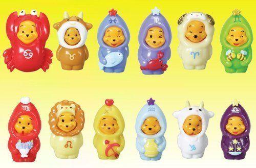 Disney Winnie The Pooh - Peek-a-Pooh Zodiac Figures by Tommy. $8.90. Save 78% Off!