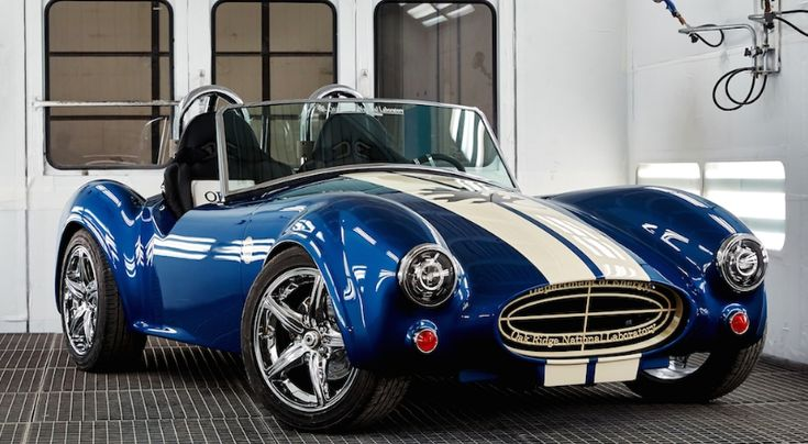 3D printed commemorative Shelby Cobra replica with electric engine by ORNL