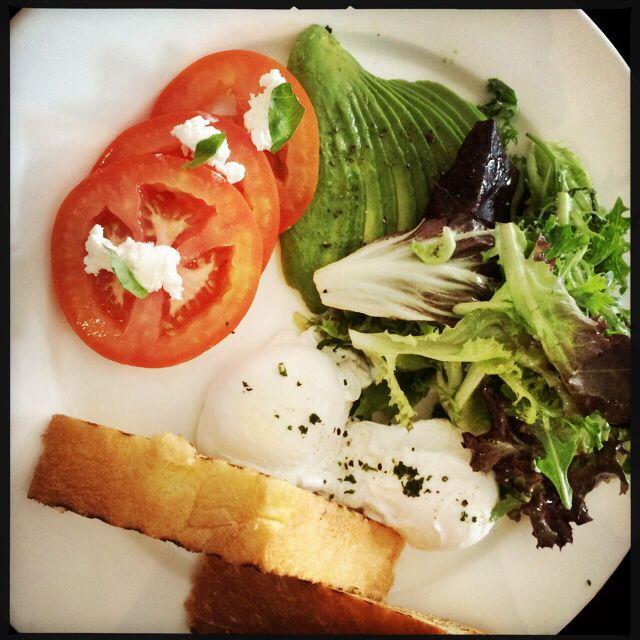 Veggie breakfast from Spruce Upper Bukit Timah