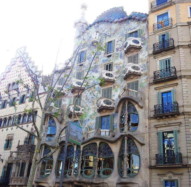 Casa Batlló -Foto hecha durante un viaje a Barcelona-