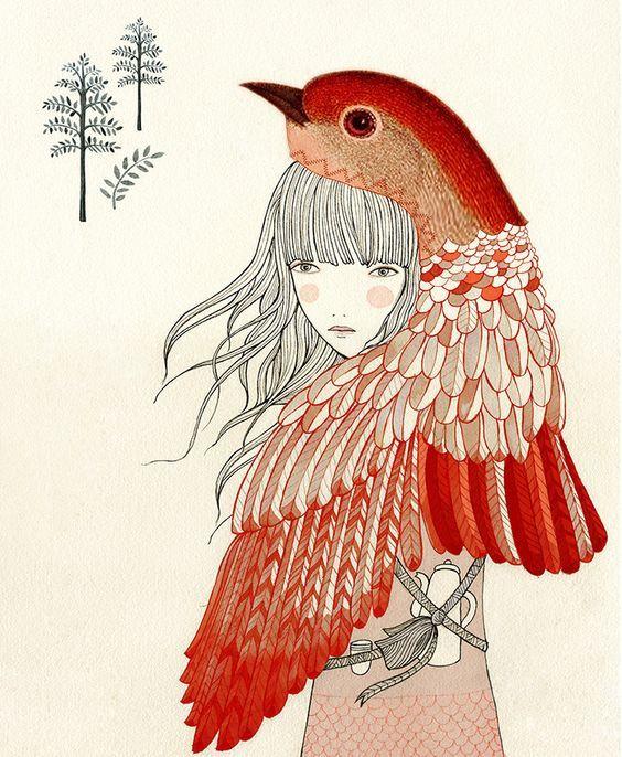 Ilustración preciosa de Lady Desidia | Vanessa Borrel, ilustradora: