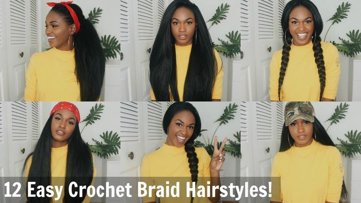 12 Super Easy Straight Crochet Hairstyles! - Outre X-pression Dominican Blowout [Video]  Read the article here - http://www.blackhairinformation.com/video-gallery/12-super-easy-straight-crochet-hairstyles-outre-x-pression-dominican-blowout-video/