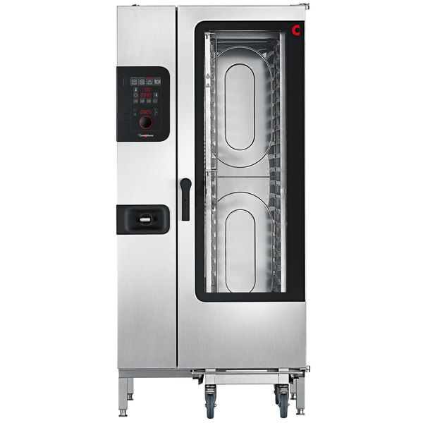 Convotherm C4ed20 10eb Half Size Roll In Electric Combi Oven With Easydial Controls 240v 3 Phase 38 2 Kw In 2020 Combi Oven