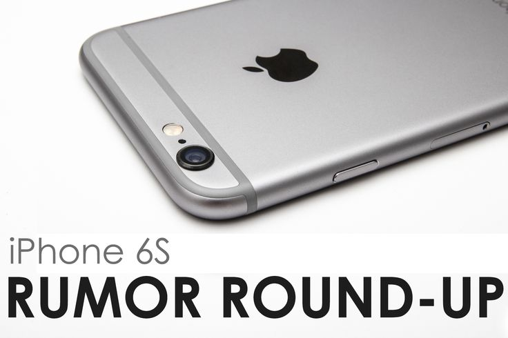 1500 words later, it's done. Here's everything we know so far about Apple's upcoming smartphone, iPhone 6S