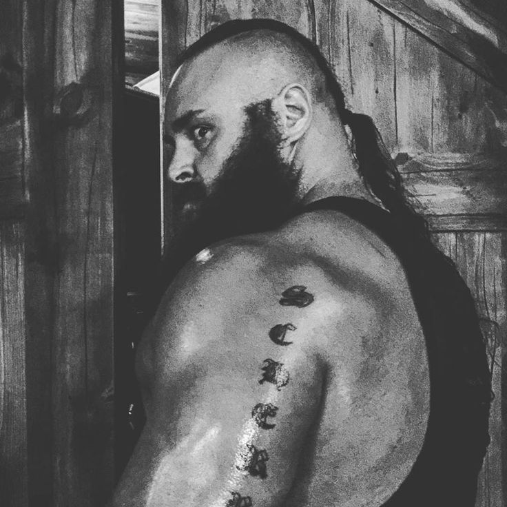 The Monster Braun Strowman!!