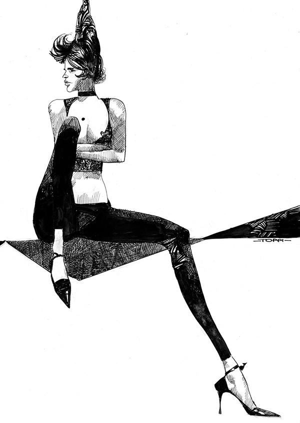 Sergio Toppi #Illustration