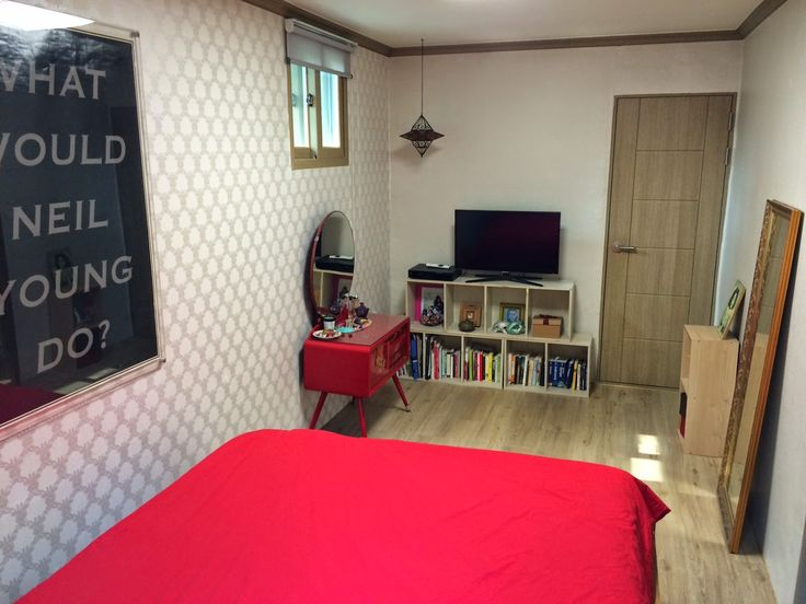 The Damyang House: bedroom