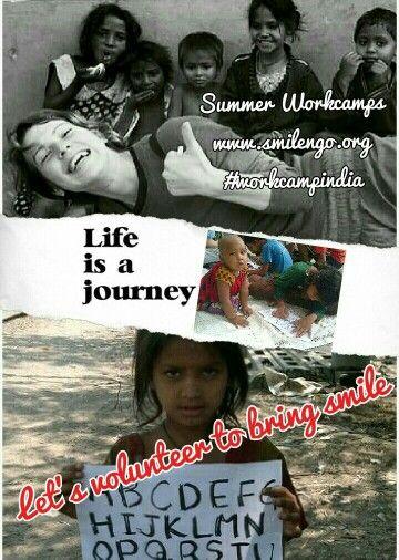 #workcampindia with #smilengo #Summercamp #youthexchange #studentcamp #volunteering India. www.smilengo.org