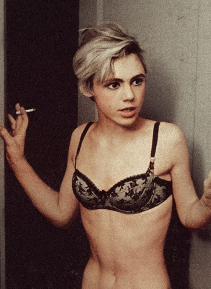 After starring in a number of Warhol movies at The Factory , Edie Sedgwick began…