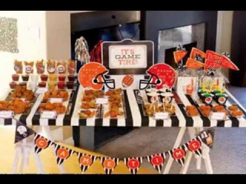 Sports decorating ideas