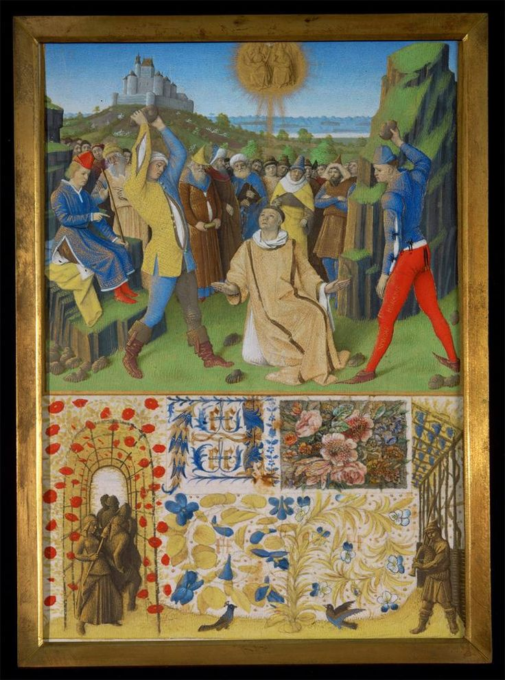 Jean Fouquet, Martyrdom of Saint Bernard