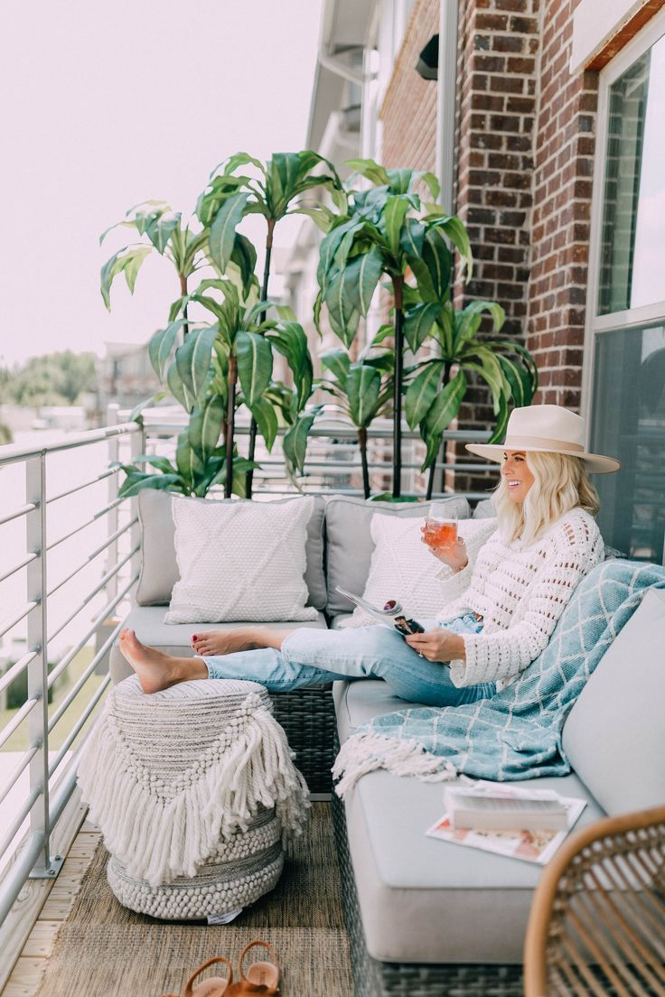 Patio Dreams - Kathleen Post-Fashion Blogger
