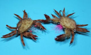 Fly Tying Nation: Saltwater Nation - Saltwater fly pattern. Mud crabs