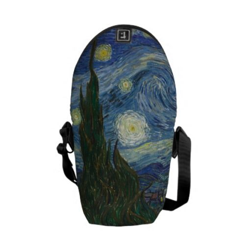 by Vincent van Gogh Courier Bag