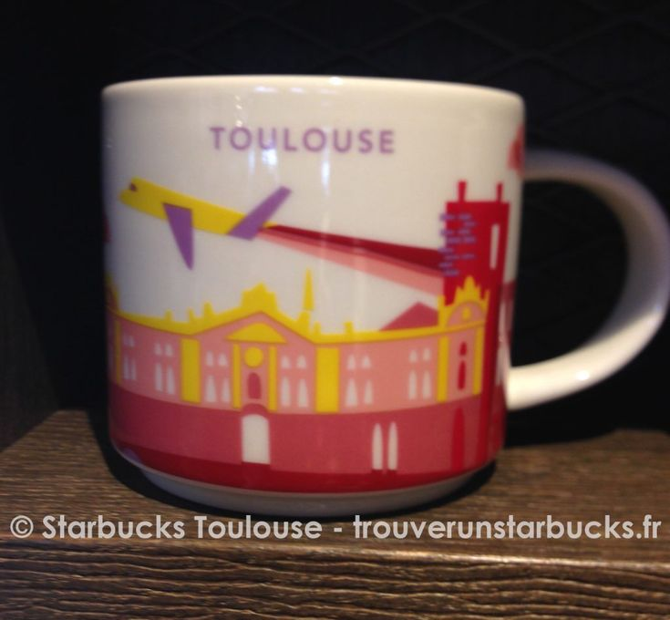 Starbucks Toulouse France You are Here YAH Mug