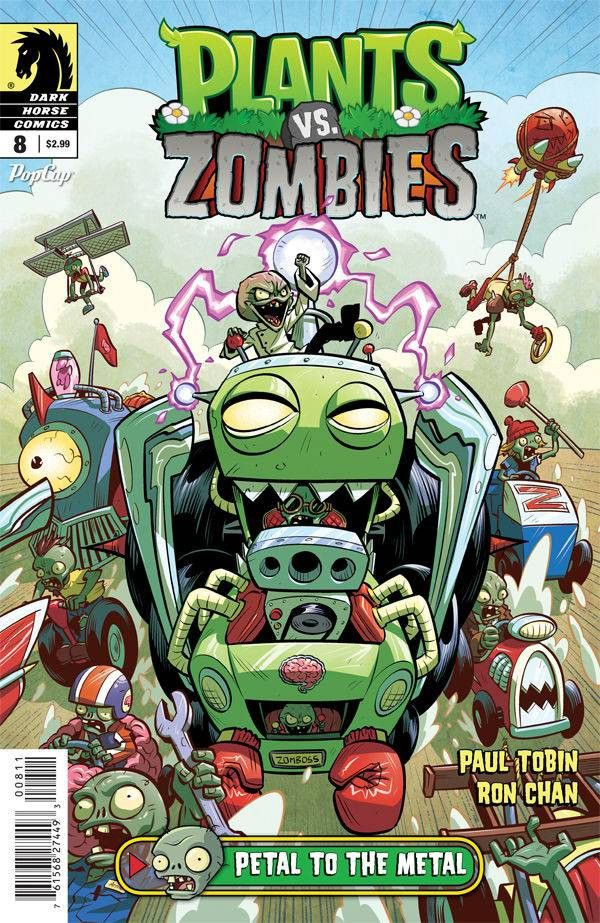 Plants vs Zombies Ongoing (2015) Issue #8